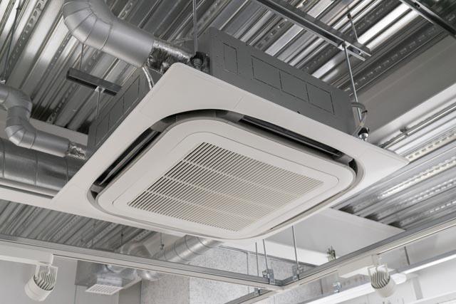 施工実績2_店舗用空調設備の設置