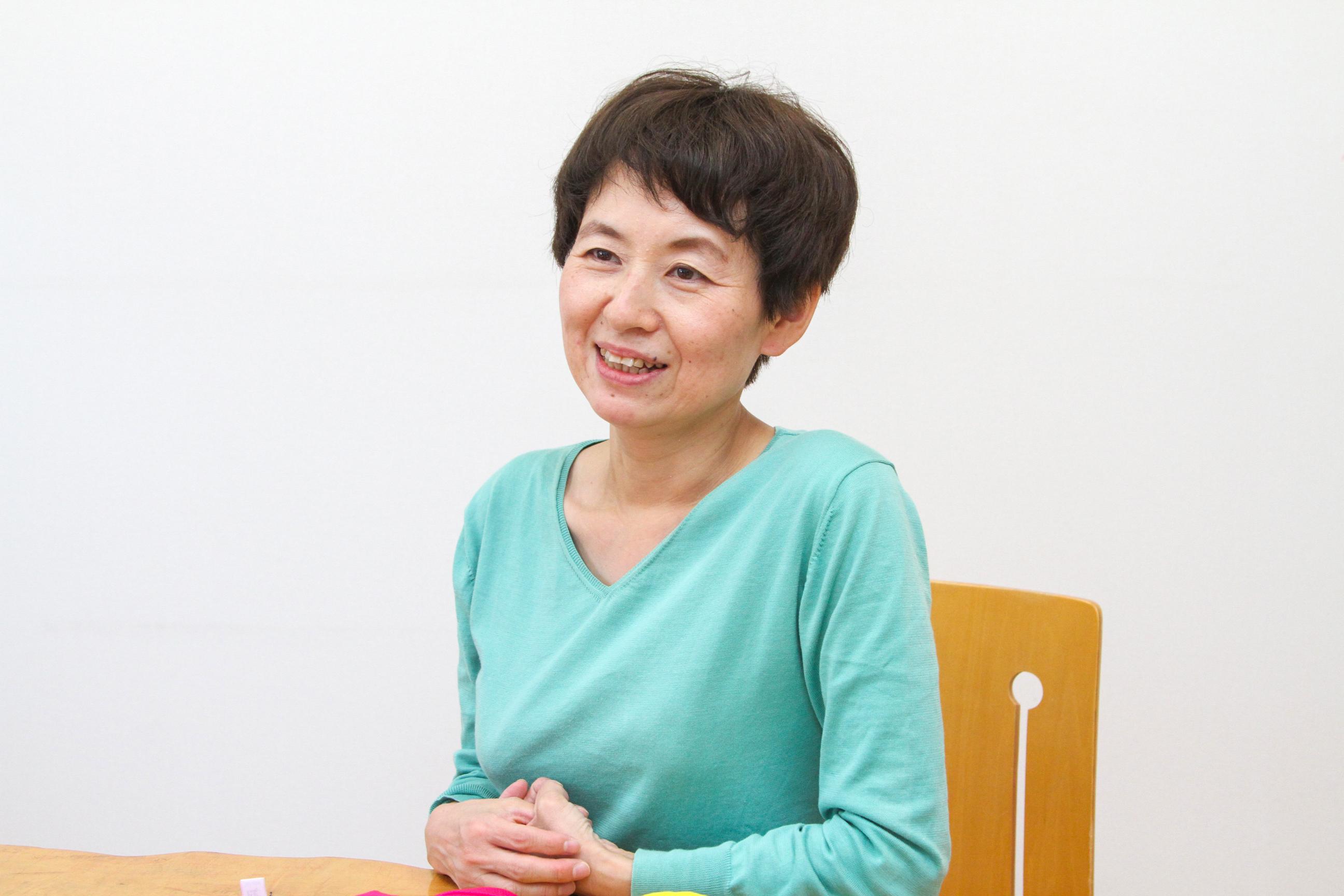 採用担当の松下奈穂子副社長